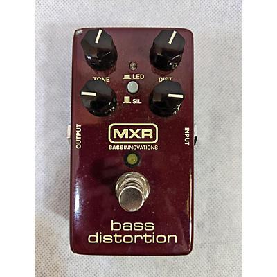 MXR M85 Bass Distortion Bass Effect Pedal