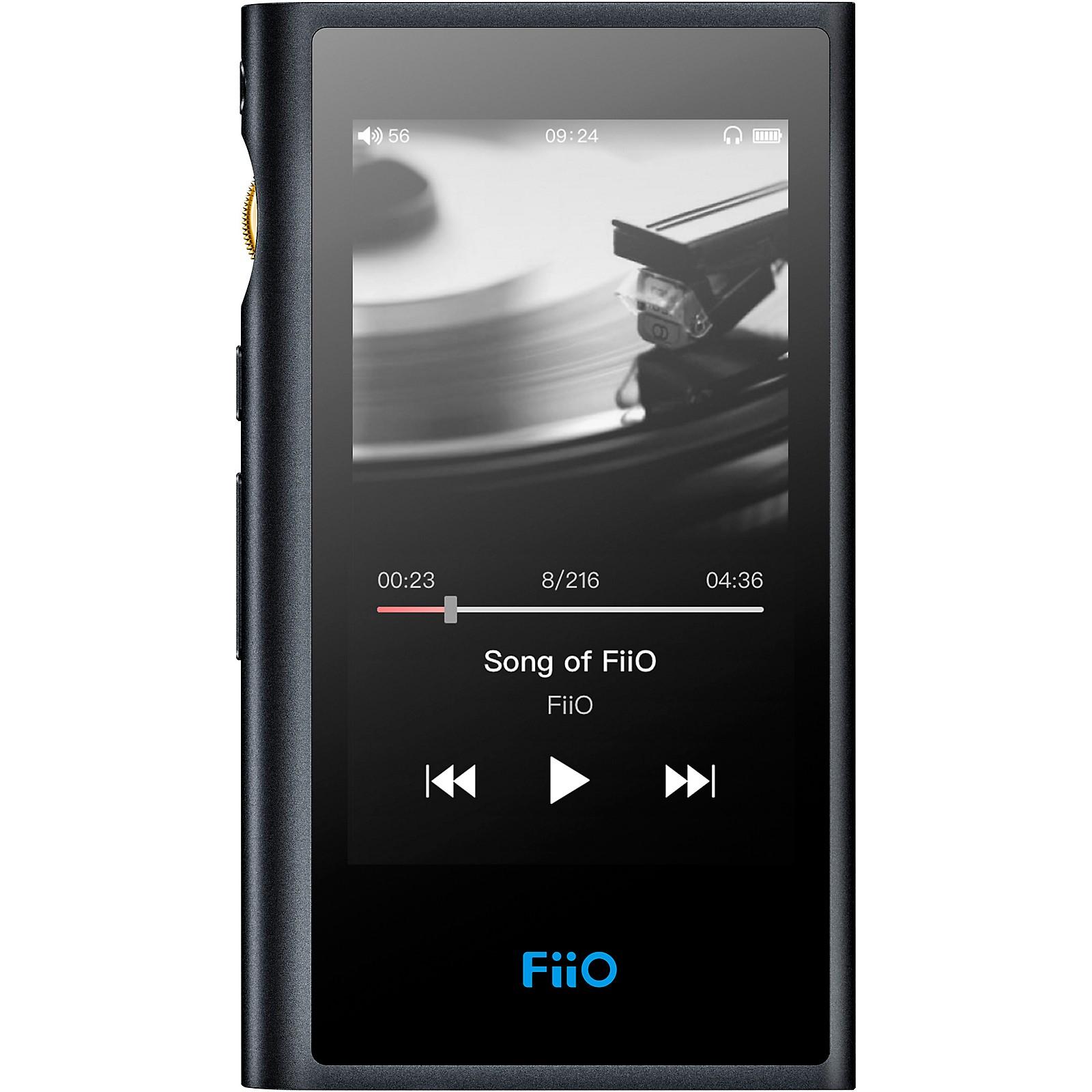 FiiO M9 Portable High-Resolution Audio Player with Bluetooth 4.2 - Black
