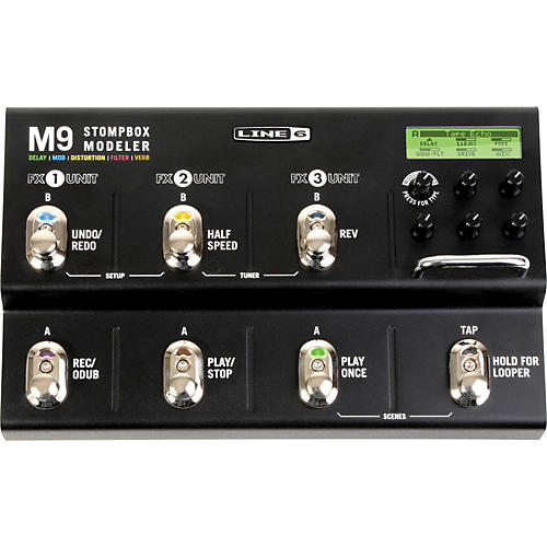 line 6 m9 stompbox modeler guitar multi effects pedal musician 39 s friend. Black Bedroom Furniture Sets. Home Design Ideas