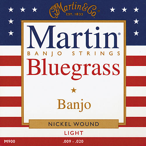 Martin M900 Light Bluegrass Banjo Strings