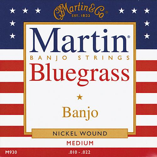 Martin M930 Nickel Wound Medium Bluegrass Banjo Strings