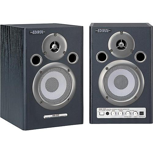 Edirol MA-10DBK Digital Stereo Micro Monitor Pair