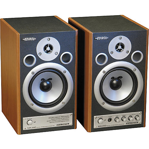 Edirol MA-20D Digital Stereo Micro Monitor Pair