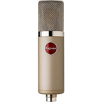 Mojave Audio MA-300SN Large-Diaphragm Multi-Pattern Tube Condenser Microphone - Satin Nickel