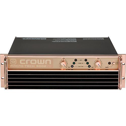 Power Amplifier Crown Macro Tech : crown ma 5002vz ae macro tech anniversary power amp musician 39 s friend ~ Russianpoet.info Haus und Dekorationen