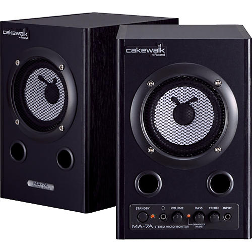 Cakewalk MA-7A Stereo Micro Monitor Pair