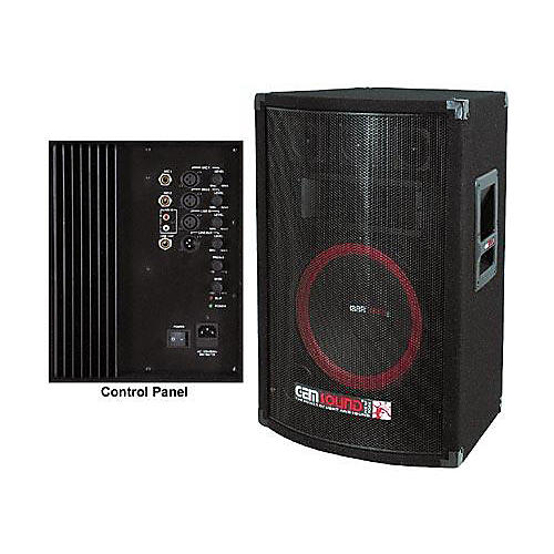 gem sound ma1200 3 way powered speaker musician 39 s friend. Black Bedroom Furniture Sets. Home Design Ideas
