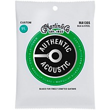 Martin MA130S Marquis Silk & Steel Custom Authentic Acoustic Guitar Strings