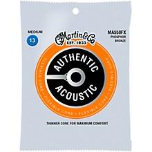 Martin MA500FX Authentic Acoustic Flexible Core Phosphor Bronze Medium Guitar Strings