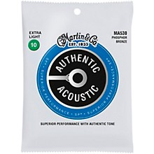 Martin MA530 SP Phosphor Bronze Extra-Light Authentic Acoustic Guitar Strings
