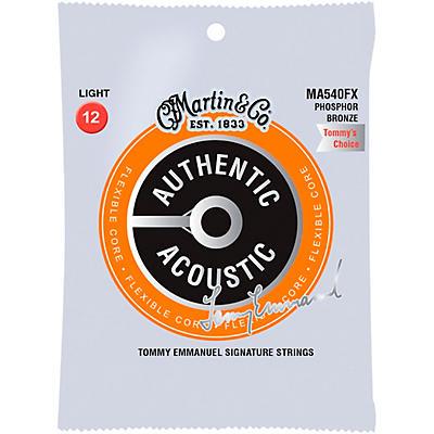 Martin MA540FX Flexible Core Phosphor Bronze Light Acoustic Guitar Strings