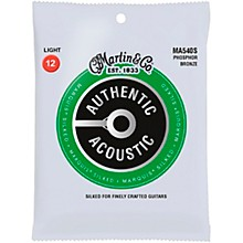 Martin MA540S Marquis Phosphor Bronze Light Authentic Silked Acoustic Guitar Strings