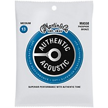 Martin MA550 SP Phosphor Bronze Medium Authentic Acoustic Guitar Strings
