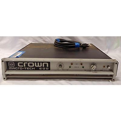 Crown MACRO-TECH 600 Power Amp
