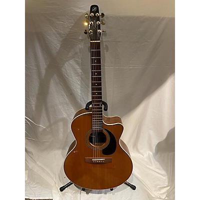 Seagull MARITIME MINI JUMBO CW QII Acoustic Electric Guitar