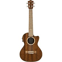 Lanikai MAS-CET All Solid Mahogany Tenor with Kula Preamp Acoustic-Electric Ukulele