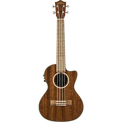Lanikai MAS-CET All Solid Mahogany Tenor with Kula Preamp Acoustic-Electric Ukulele