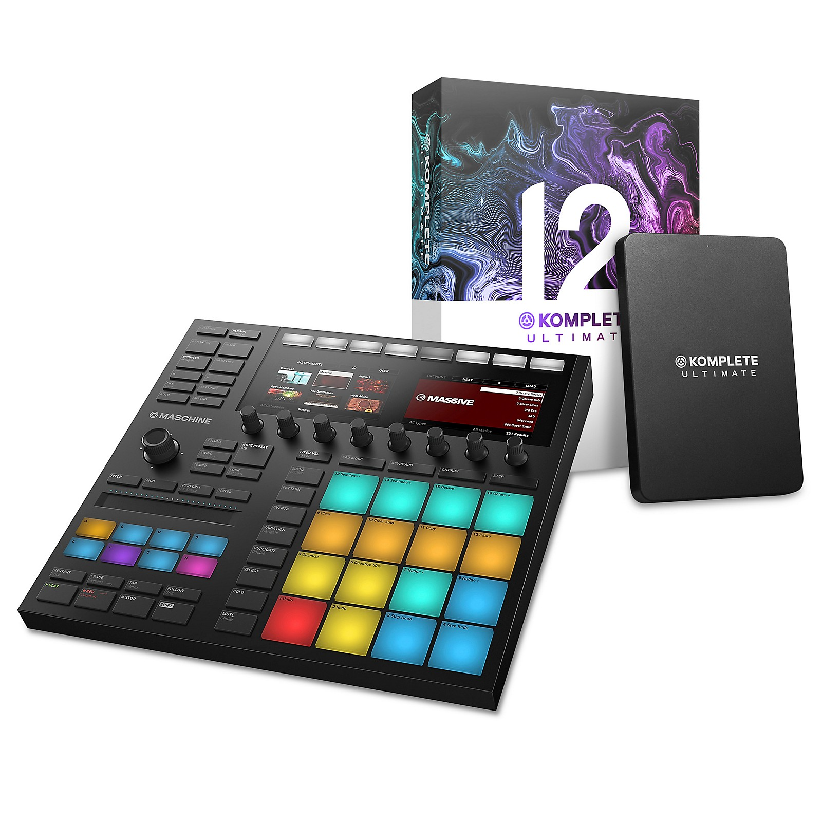 Native Instruments MASCHINE MK3 with KOMPLETE 12 ULTIMATE