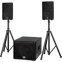 Open BoxB-52 MATRIX-1500 1200-Watt 15 Sub & Two 10 2-Way Three Piece Active Speaker System