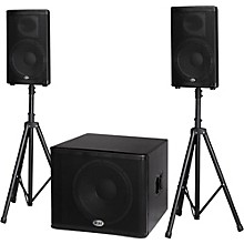 Open Box B-52 MATRIX-2500 3-Piece Active Speaker System