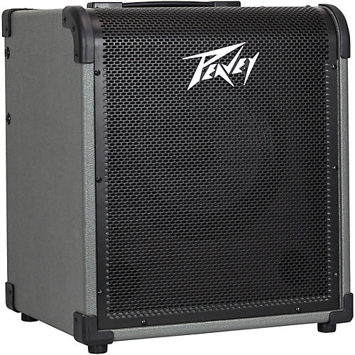 Peavey MAX 100 100W 1x10 Bass Combo Amp Gray and Black