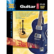 Alfred MAX Series Guitar Instruction 1 (Book/DVD)