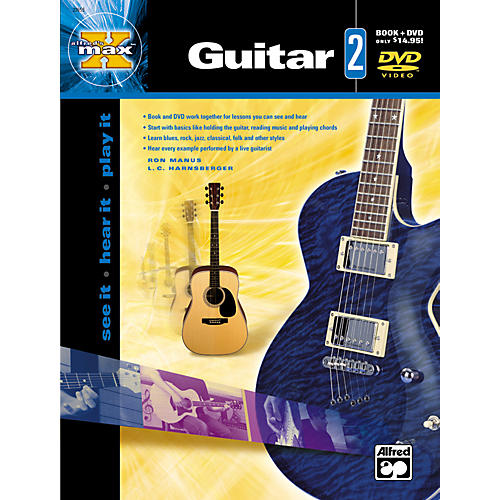 Alfred MAX Series Guitar Instruction 2 (Book/DVD)