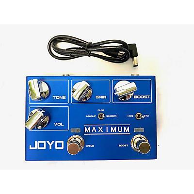 Joyo MAXIMUM MOSFET OVERDRIVE Effect Pedal