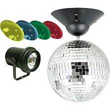 "Open BoxAmerican DJ MB-8 8"" Mirror Ball Package"