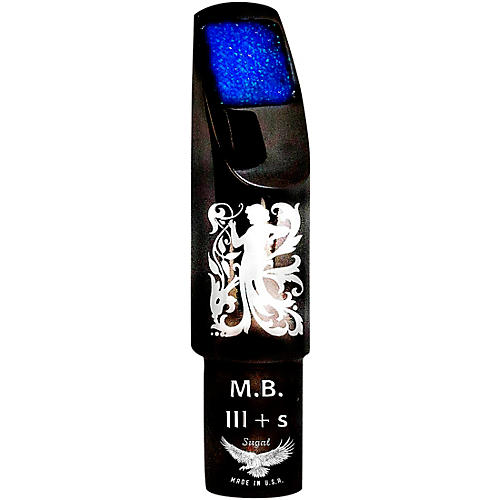 Sugal MB III + s Black Hematite Laser Enhanced Tenor Saxophone Mouthpiece 7