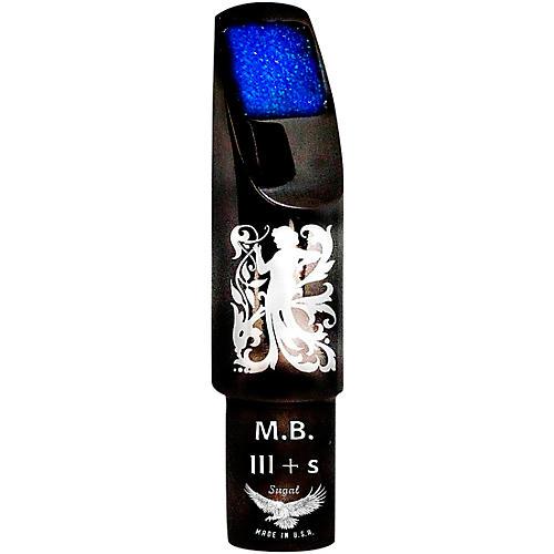 Sugal MB III + s Black Hematite Laser Enhanced Tenor Saxophone Mouthpiece 7*