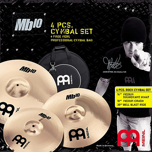 Meinl MB10 Rock Cymbal Set