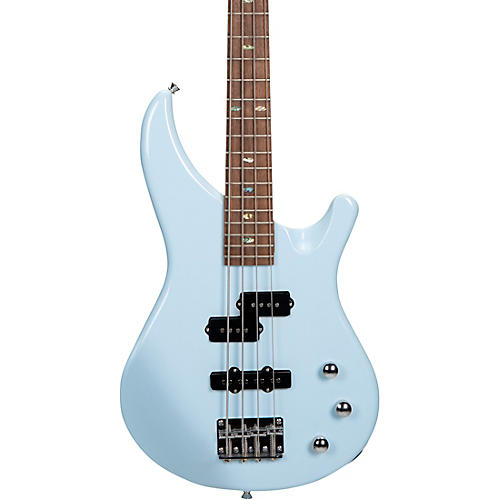 Mitchell MB100 Short Scale Solid Body Electric Bass Powder Blue