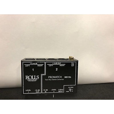 Rolls MB15B PROMATCH Microphone Preamp