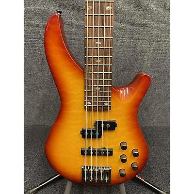Mitchell MB305QHB Electric Bass Guitar