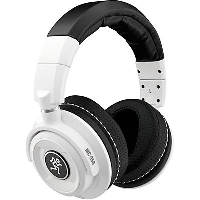 Mackie MC-350 Limited Edition White Professional Closed-Back Headphones