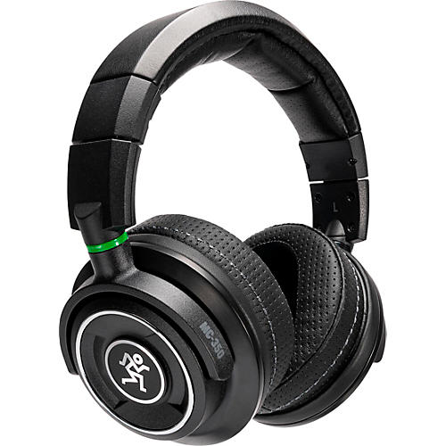 Mackie MC-350 Professional Closed-Back Headphones Black