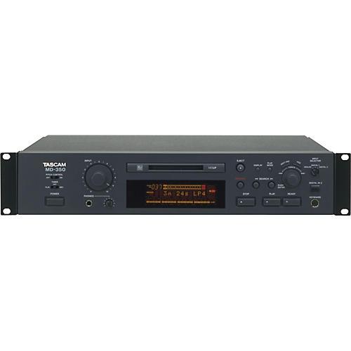 tascam md 350 advanced minidisc recorder musician s friend rh musiciansfriend com Mcdn 02B IMG View Car 02B 50957