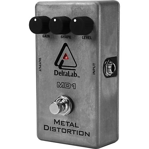 deltalab md1 metal distortion guitar effects pedal musician 39 s friend. Black Bedroom Furniture Sets. Home Design Ideas