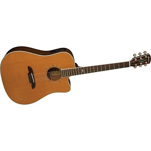 Alvarez MD660C Masterworks Dreadnought Acoustic-Electric Guitar