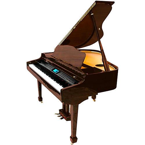 suzuki mdg 400 baby grand digital piano dark walnut musician 39 s friend. Black Bedroom Furniture Sets. Home Design Ideas