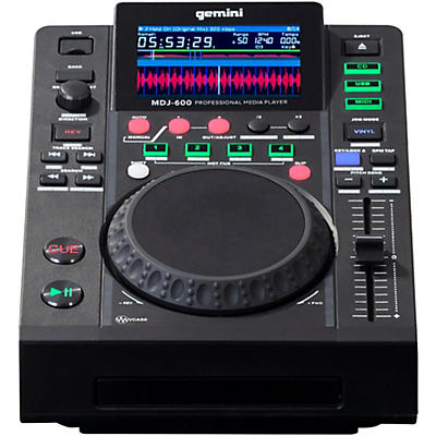 Gemini MDJ-600 Professional DJ USB CD CDJ Media Player