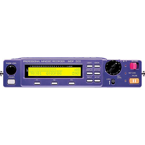 HHB MDP500 PortaDisc Portable Minidisc Field Recorder