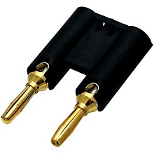 VTG MDPK Black Banana Plugs 2-Pack