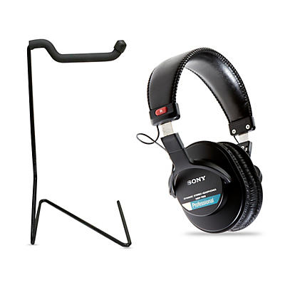 Sony MDR-7506 Professional Closed-Back Headphones with FREE stand