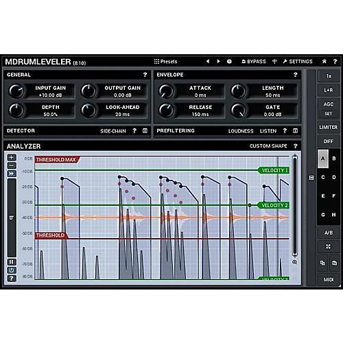 MeldaProduction MDrumLeveler Software Download