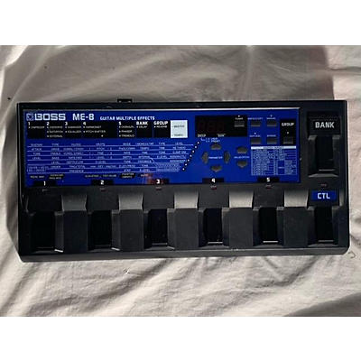 Boss ME8 Guitar Multi Effect Processor