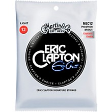 "Martin MEC12 Martin Acoustic ""Clapton's Choice"" Light Phosphor Bronze Guitar Strings"