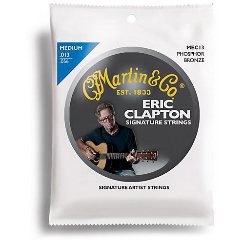Martin MEC13 Clapton's Choice Phosphor Bronze Medium Acoustic Guitar Strings