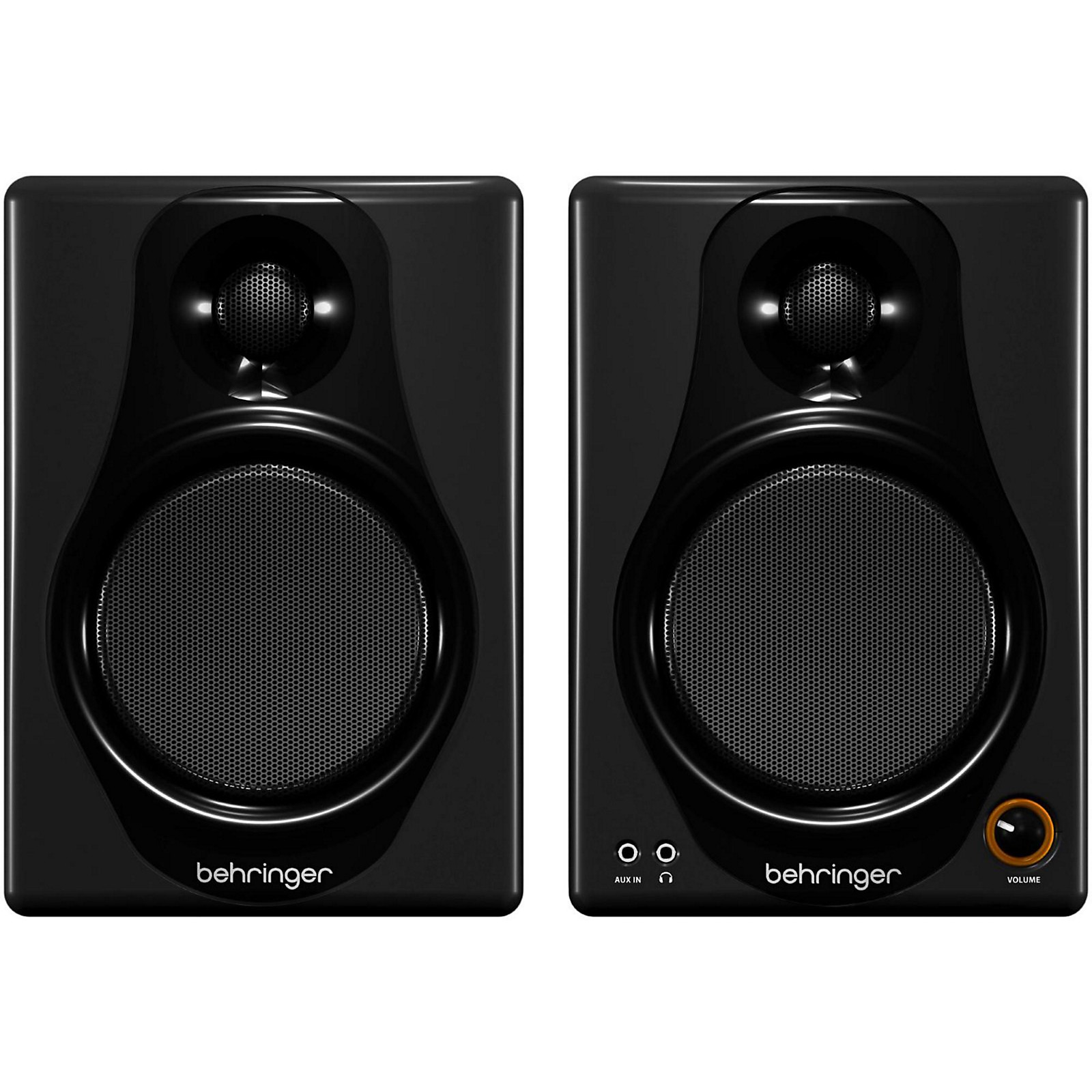 Behringer MEDIA 40USB High-Resolution,150-Watt Bi-Amped Digital Monitor Speakers with USB Input